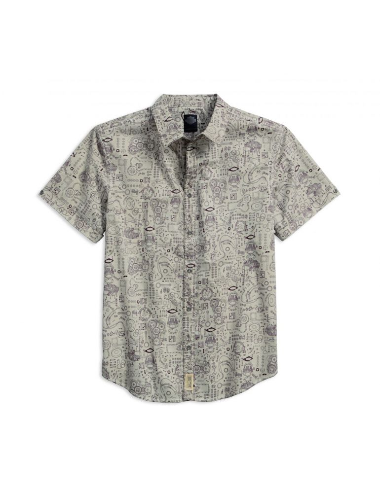 Сорочка чоловіча короткий рукав розмір M