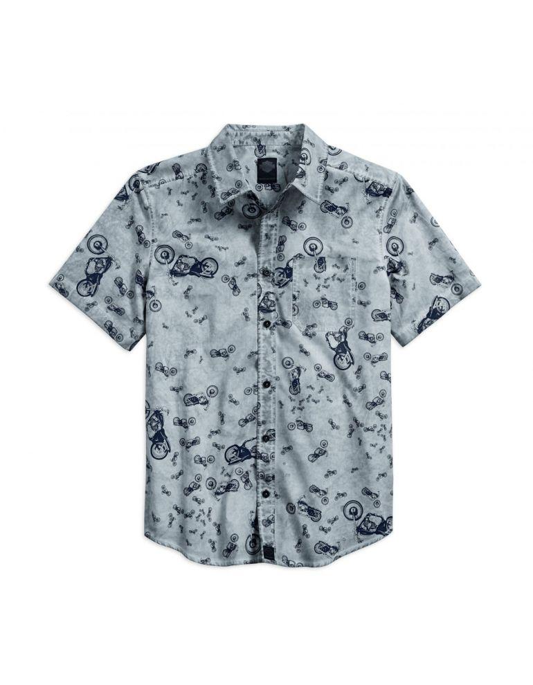 Сорочка чоловіча короткий рукав розмір L