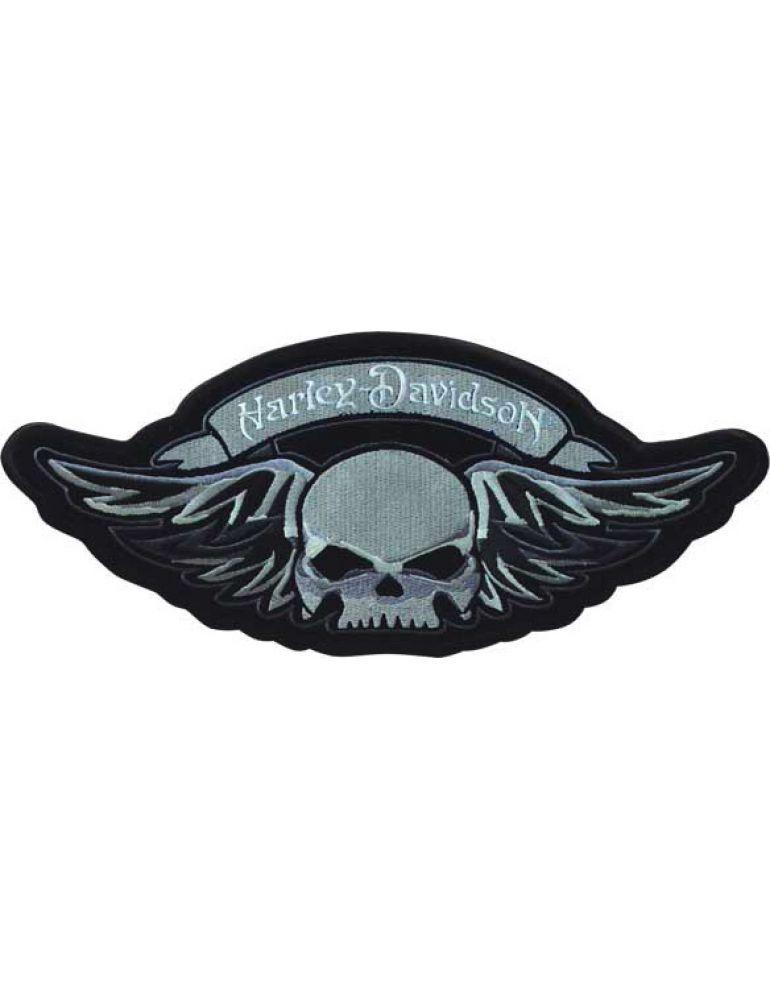 Нашивка-емблема Winged Skull SM (вишита)