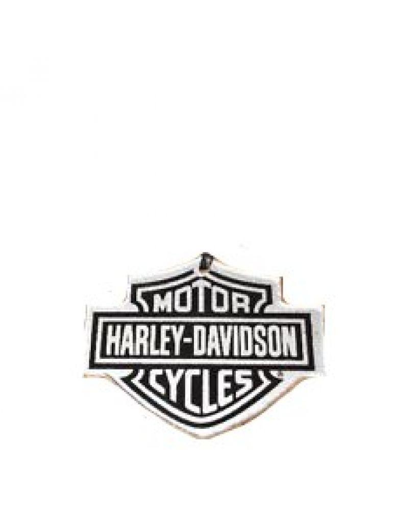 Новорічна ялинкова іграшка у вигляді фірмової емблеми Harley-Davidson