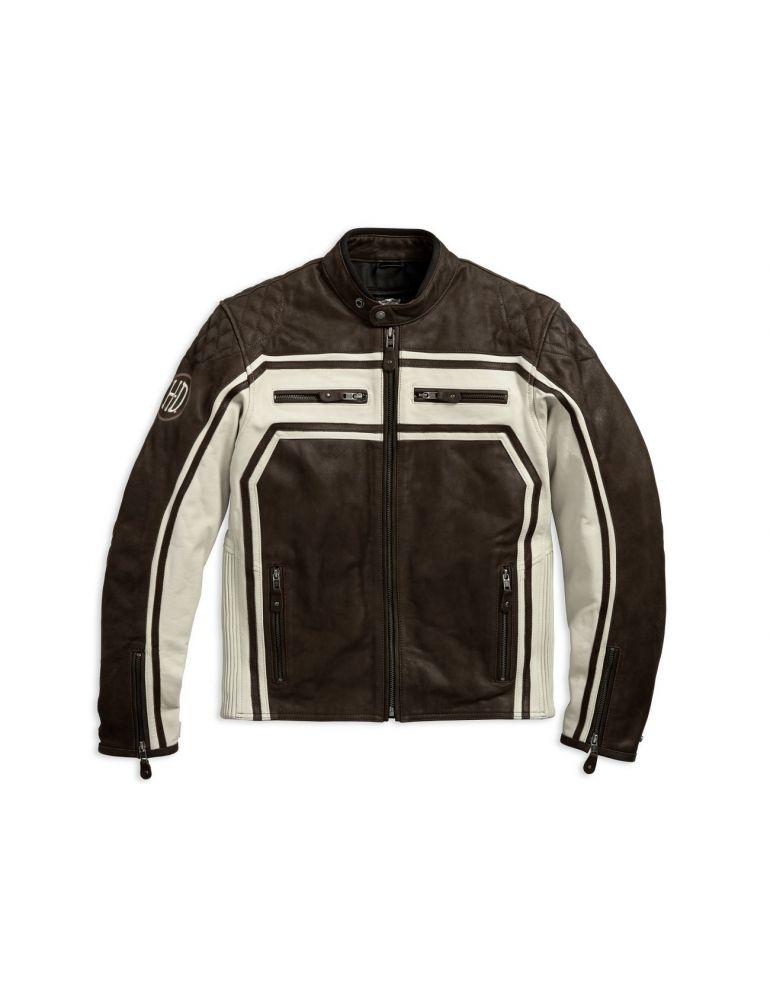 Куртка чоловіча шкіряна розмір XL