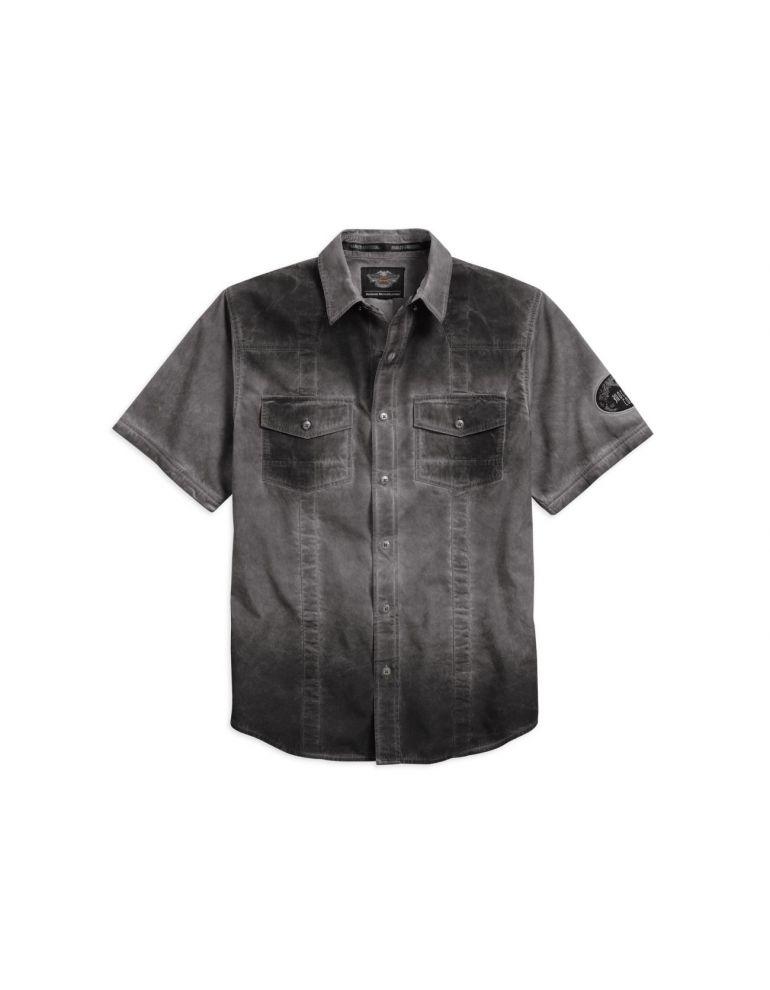 Сорочка чоловіча короткий рукав розмір XL