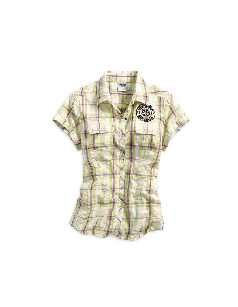 Жіноча сорочка з коротким рукавом , розмір S
