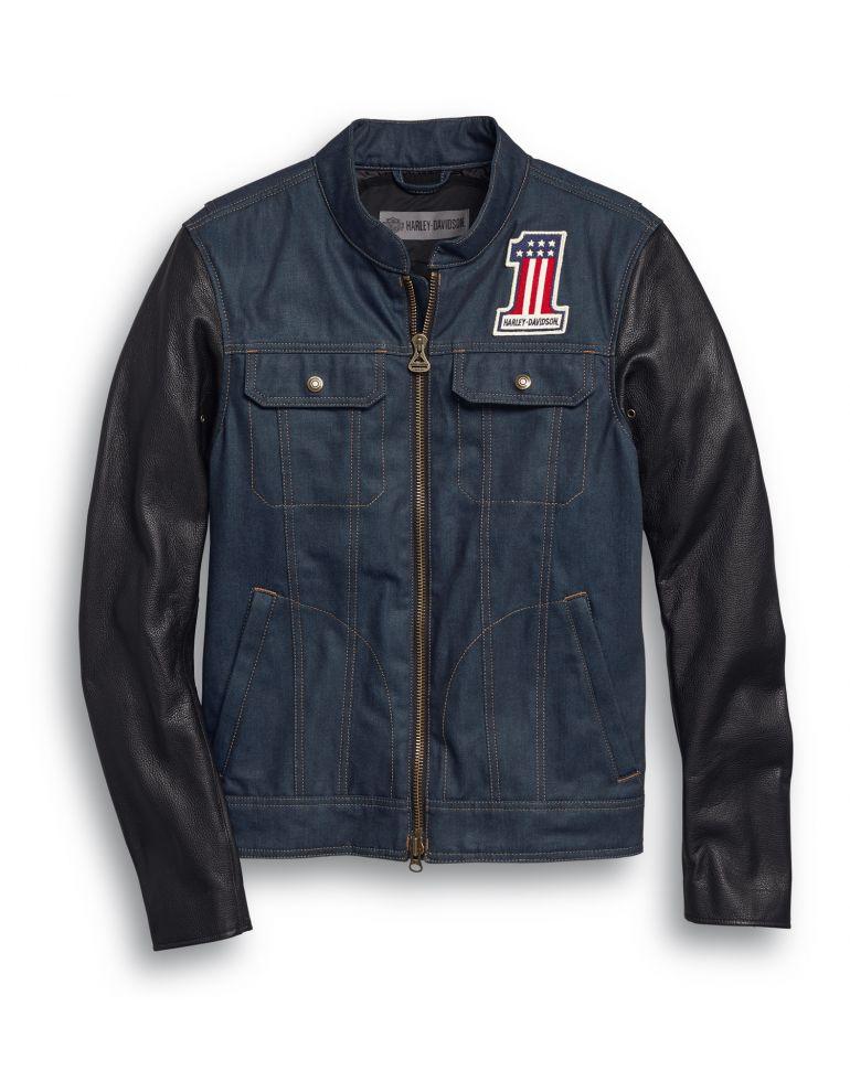 Куртка джинсова чоловіча розмір L
