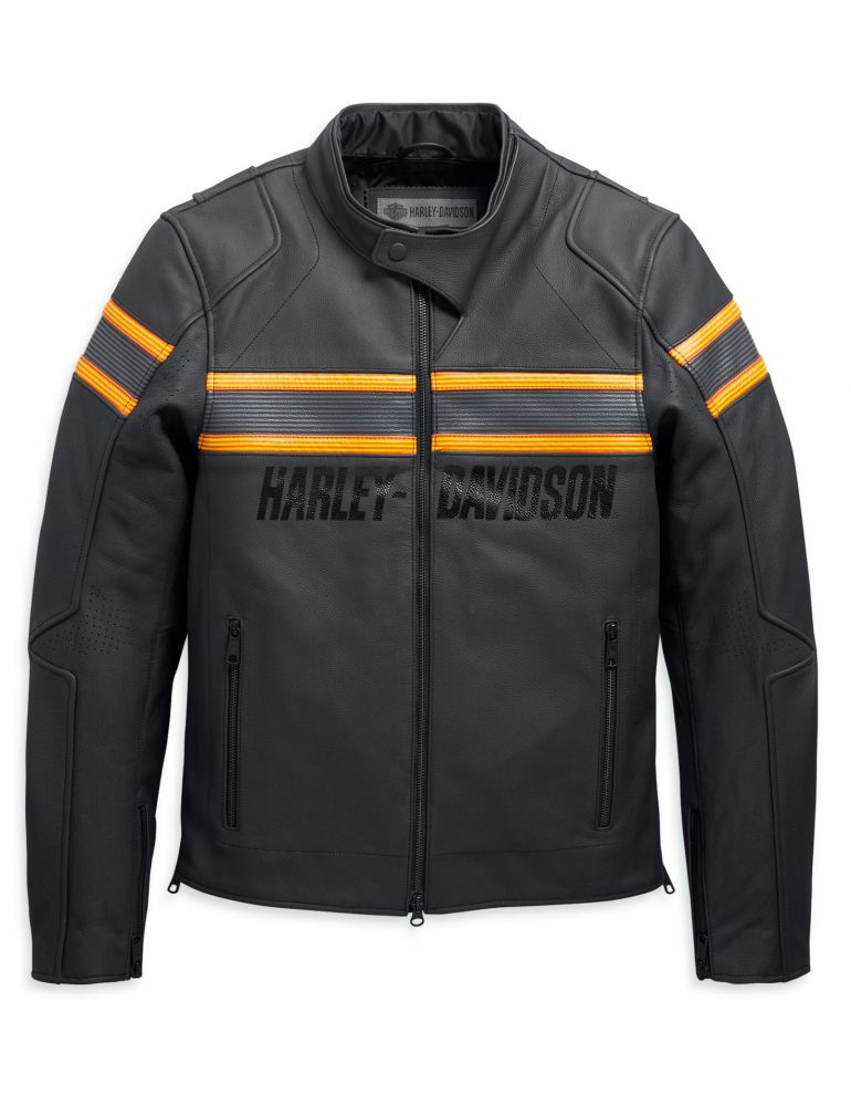 Куртка чоловіча шкіряна довгий рукав розмір M