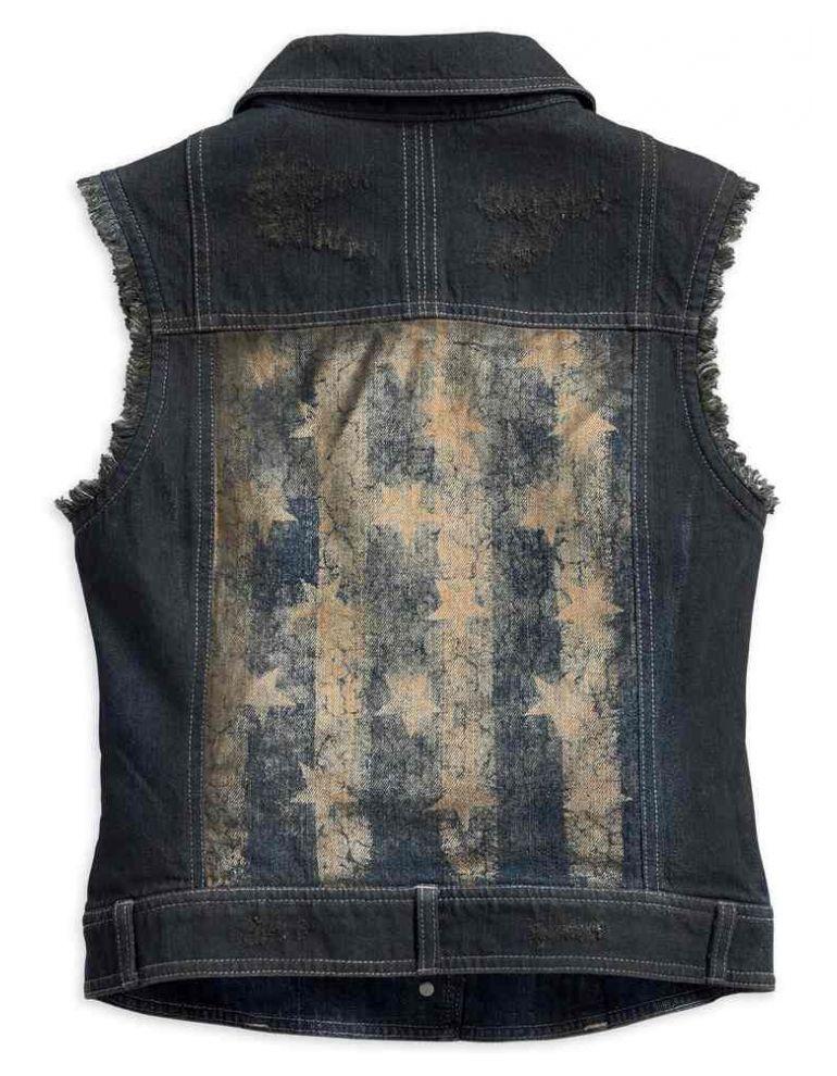 Жилет жіночий джинсовий розмір M