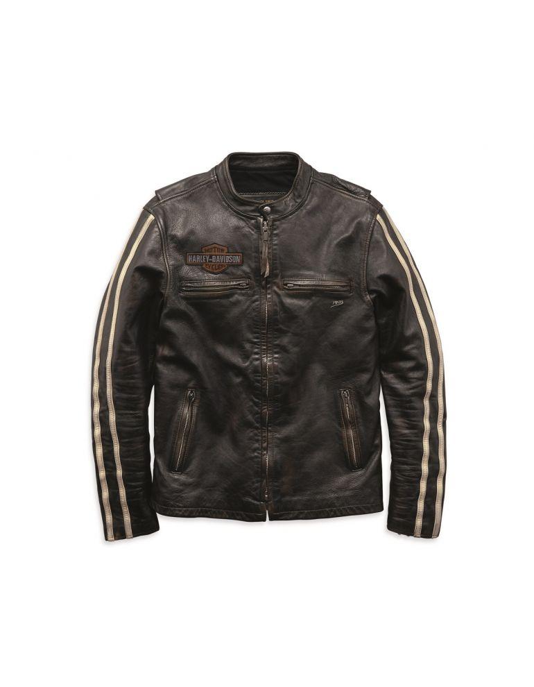 Куртка чоловіча шкіряна розмір M