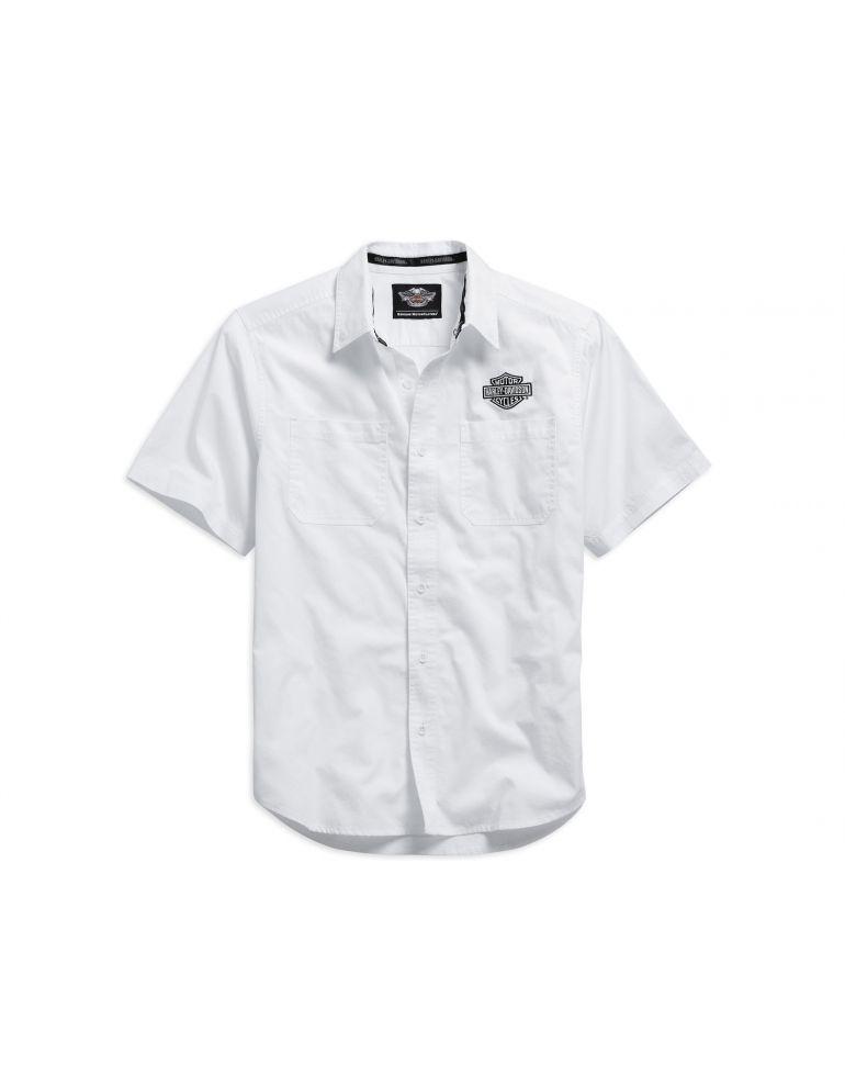 Чоловіча сорочка з коротким рукавом , розмір ХL