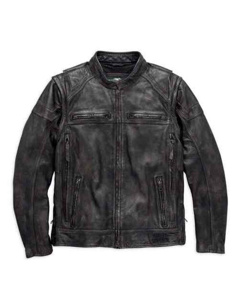 Куртка чоловіча зі з'ємними рукавами розмір L