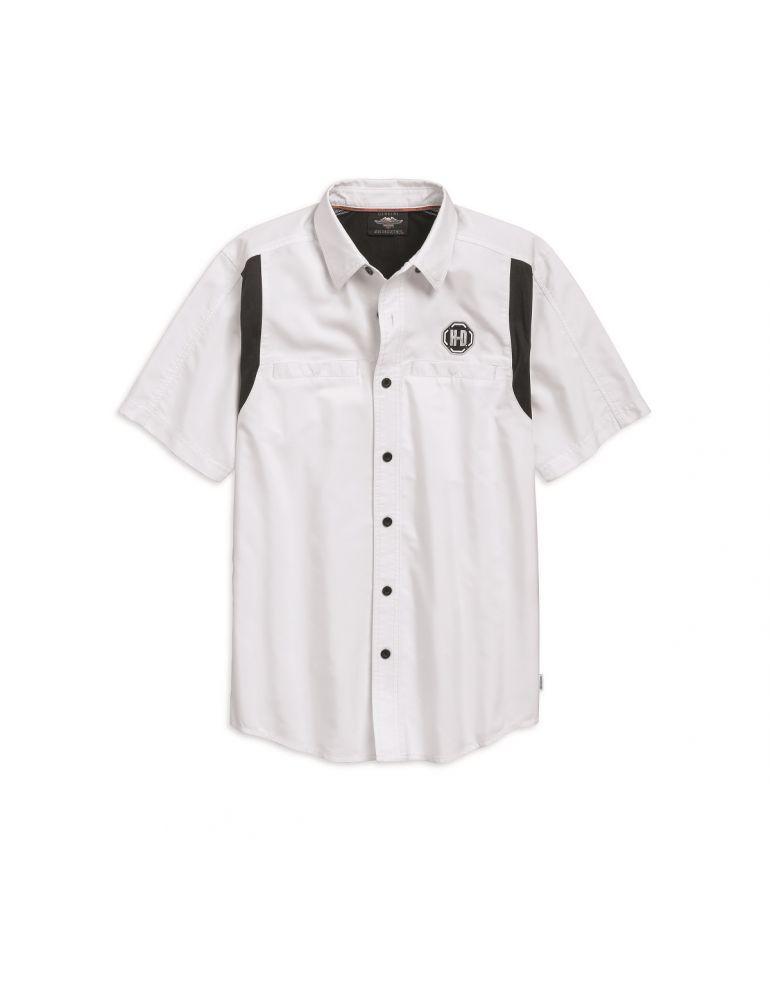 Сорочка чоловіча з технологією COOLCORE короткий рукав розмір L