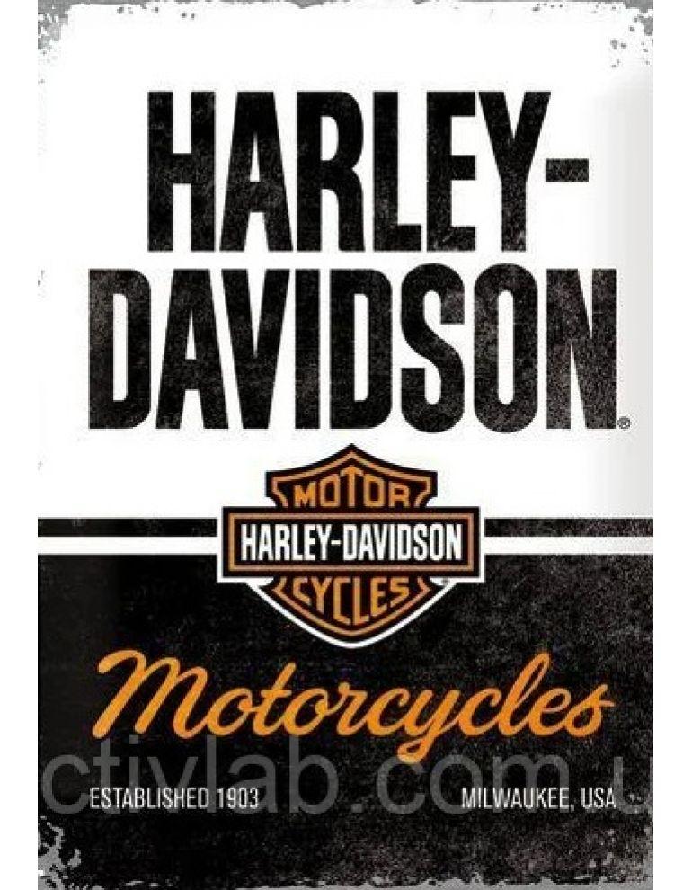 Табличка Harley-Davidson 30x40