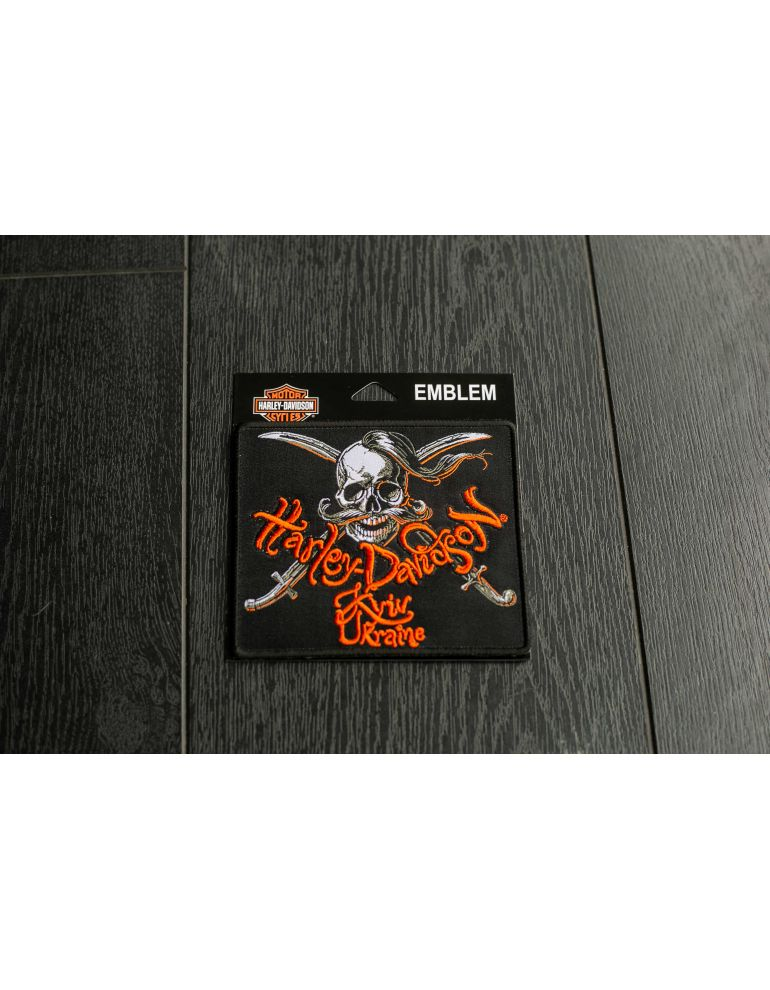 "Нашивка з логотипом ""Harley-Davidson Kyiv"""
