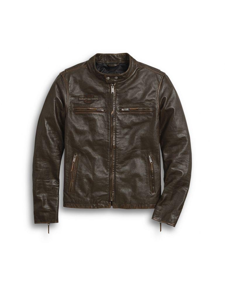 Куртка шкіряна чоловіча розмір L