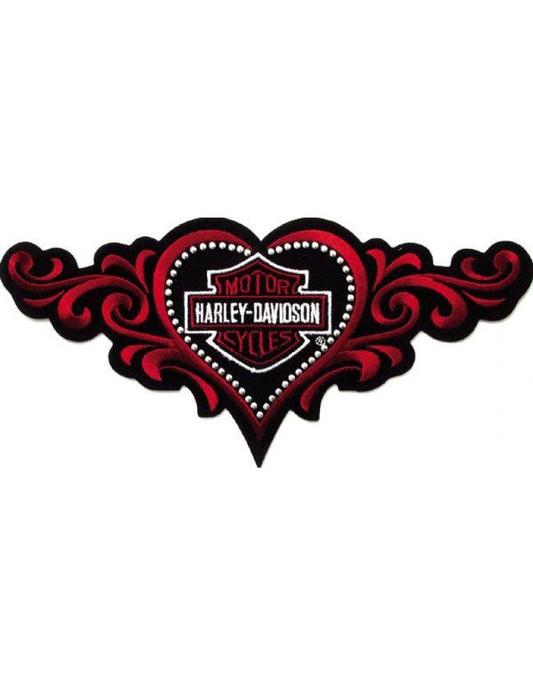 Нашивка-емблема Studded Love Heart SM (вишита)